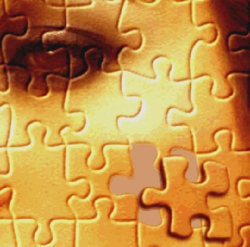 Come a Photoshop di un puzzle Jigsaw Texture