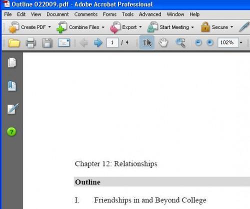 Come rimuovere le pagine da un file PDF