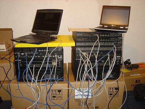 Elenco dei dispositivi utilizzati nella creazione di un server di rete
