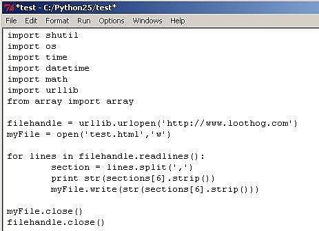 Come leggere una pagina web utilizzando Python