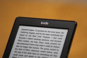 Come cambiare la voce su un Kindle