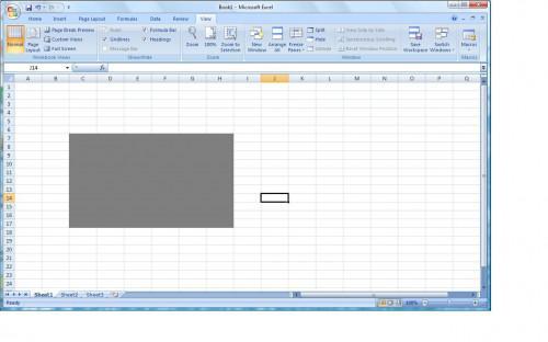 Come ottenere celle di Microsoft Excel a tonalità di grigio Quando Evidenziato
