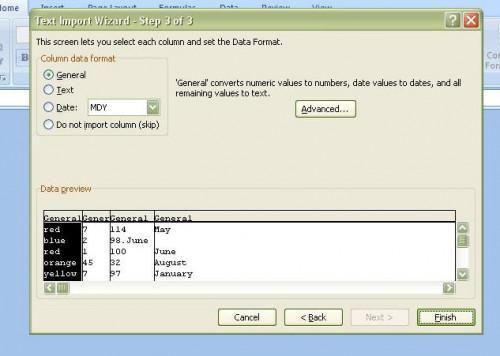 Come importare un file delimitato in Excel