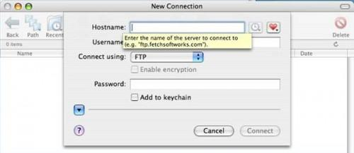 Come accedere a un server FTP