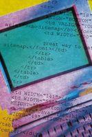 Il codice HTML per cambiare il colore delle parole