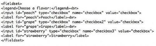 Come utilizzare l'elemento etichetta per formulari online accessibile