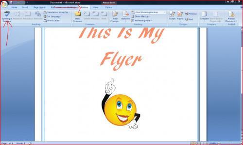 Come fare un volantino su Microsoft Word 2007
