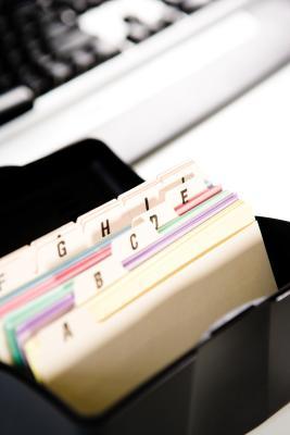 Come fare 3 X 5 carte nota con Microsoft Word