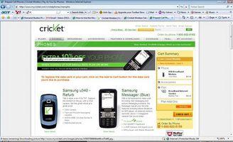 Come utilizzare il Web per Cricket servizio di Telefonia
