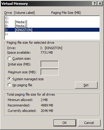 Come aumentare Windows XP memoria con un Flash Drive