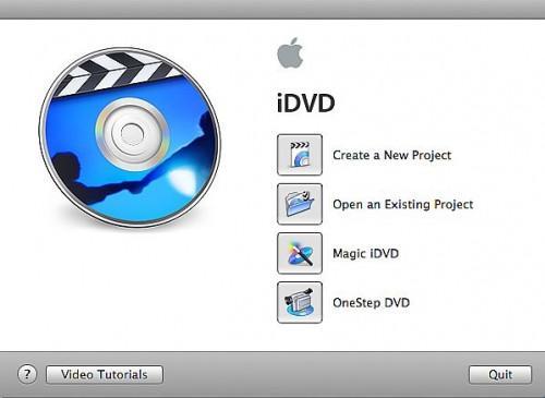 Come creare un DVD in iDVD da un filmato