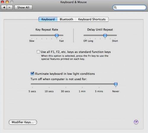 Come utilizzare una tastiera Microsoft su PC Apple