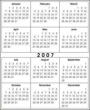 Come fare un calendario in Flash