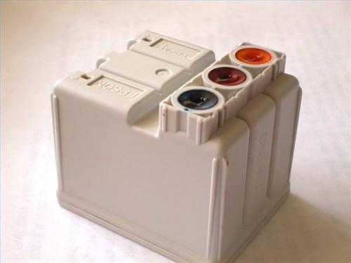 Canon BJC-6000 Istruzioni cartuccia di ricarica