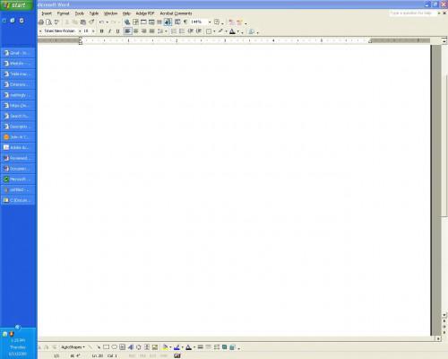 Come modificare barra delle applicazioni di Windows XP