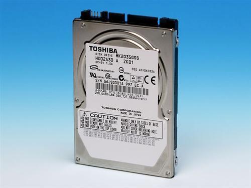 Come modificare un Toshiba duro del computer portatile
