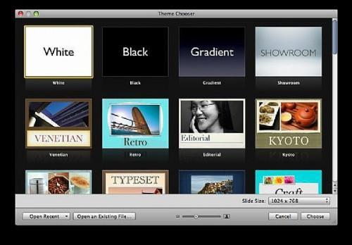Come fare una presentazione semplice con Apple Keynote '09