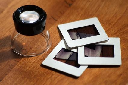 Come convertire i colori diapositive di immagini digitali