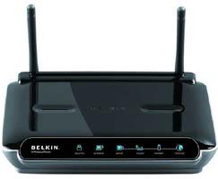Come modificare le impostazioni di protezione a un router wireless Belkin