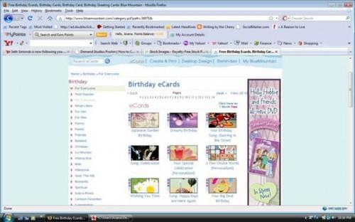Come creare un libero ha reso personale Birthday Card online