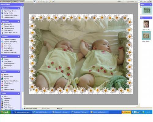 Come aggiungere bordi alle foto con Microsoft Digital Image