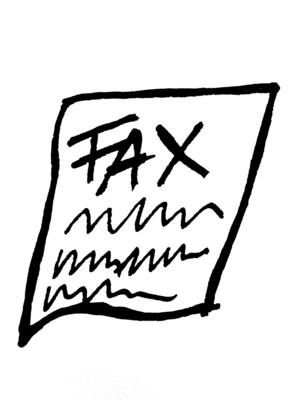 Come fax con una connessione USB e Internet