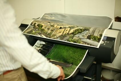 Come stampare un'immagine di grandi dimensioni
