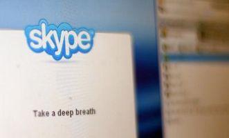 Il mio Skype non è presente il menu Chat