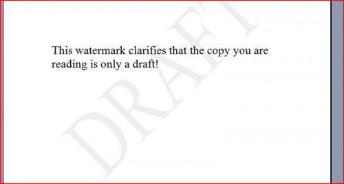 Come aggiungere una filigrana a un documento di Word