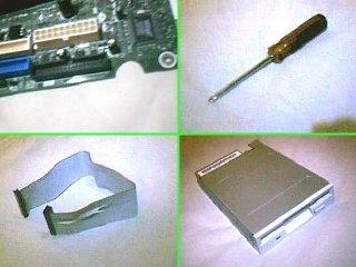 Unità floppy Tutorial installazione