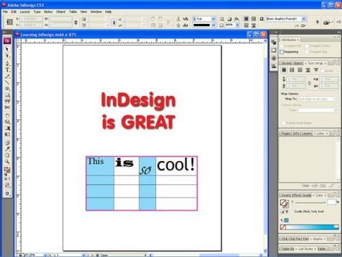 Istruzioni Adobe Indesign
