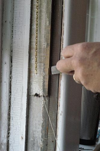 Fai da te di Windows per una vecchia casa