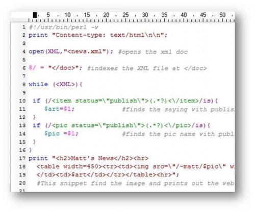 Come fare una pagina web con XML