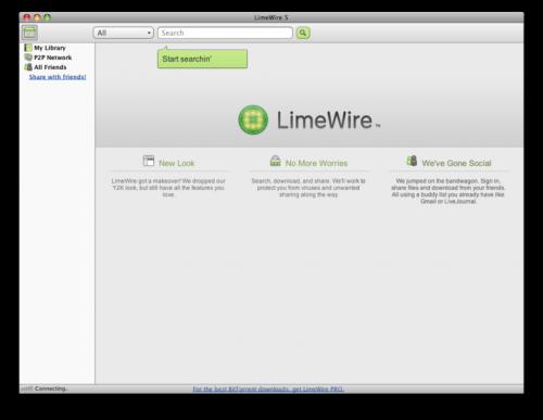 Quali sono LimeWire Tunes?