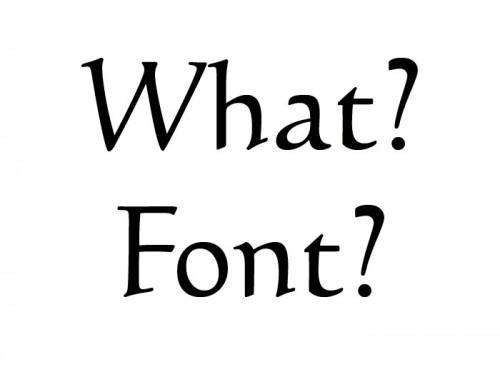 Come abbinare Fonts