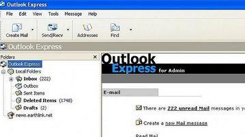Come smettere di e-mail indesiderate in Outlook Express