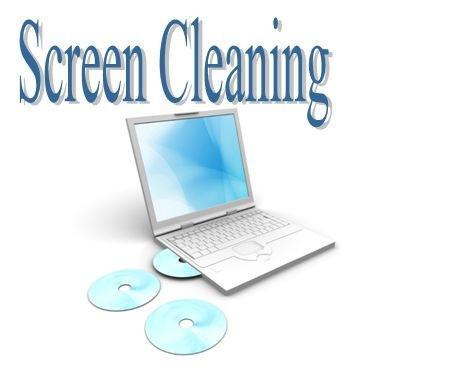 Notebook pulizia dello schermo