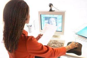 Come posso ottenere il mio Webcam Immagini di una e-mail?