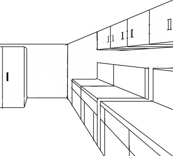 come progettare una cucina 3d utilizzo di adobe photoshop ... - Disegnare Cucina 3d