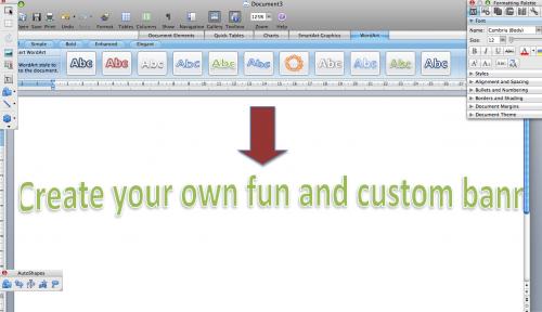 Come fare un banner su Microsoft Word 2007
