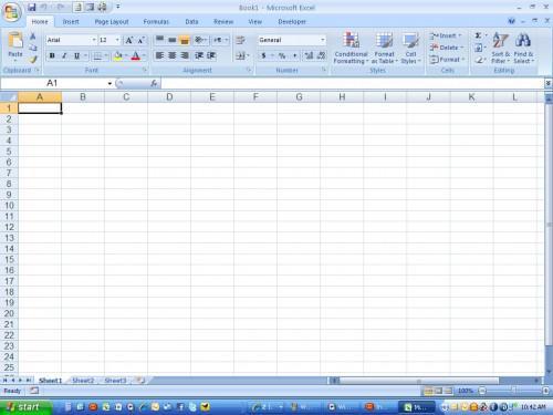 Come angolo del testo in Microsoft Excel 2007