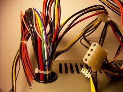 Come collegare i cavi per un Purepower Rx Alimentatore scheda madre
