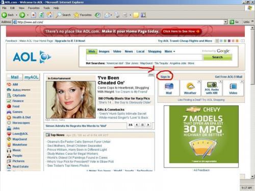 Come ottenere un nuovo nome visualizzato su AOL