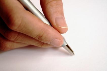 Come eseguire la scansione di una firma per Word Lettera MS