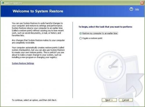Come creare un disco di ripristino di emergenza in Windows XP
