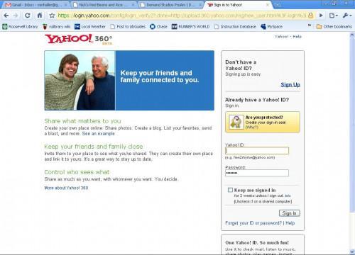 Come creare un blog di Yahoo