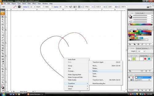 Come disegnare un cuore in Adobe Illustrator