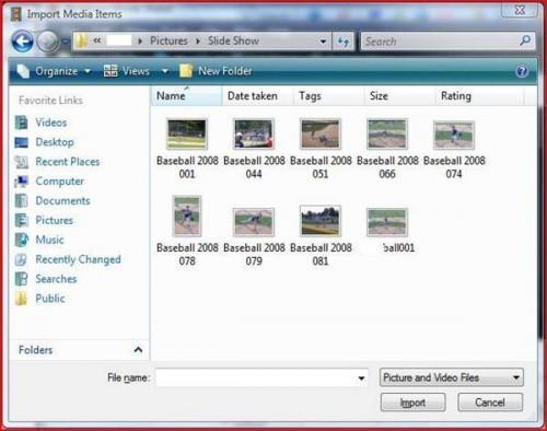 Come fare DVD Slide Show con una fotocamera digitale