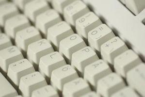 Con una sola mano Typing Attività per computer Mac