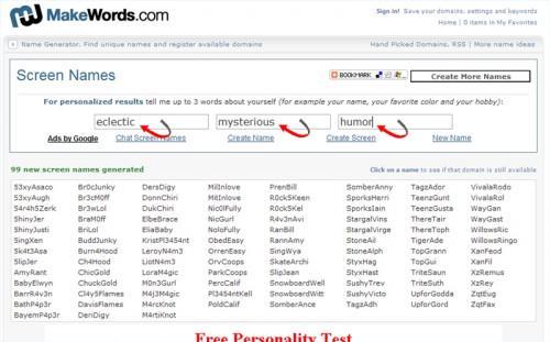Come trovare idee per un nuovo Nome schermata AOL